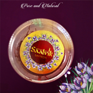 Satvik Saffron Packaging