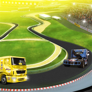 Truck Racing Ad